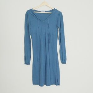 Michael Stars MicroJersey Hoodie Dress